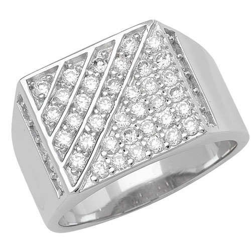 Silver Gents rings