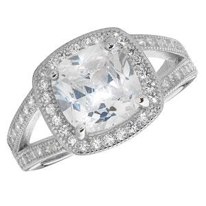 Silver Dress Rings